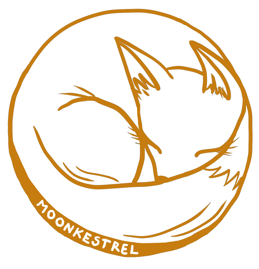 MoonKestrel Logo2 - Orange