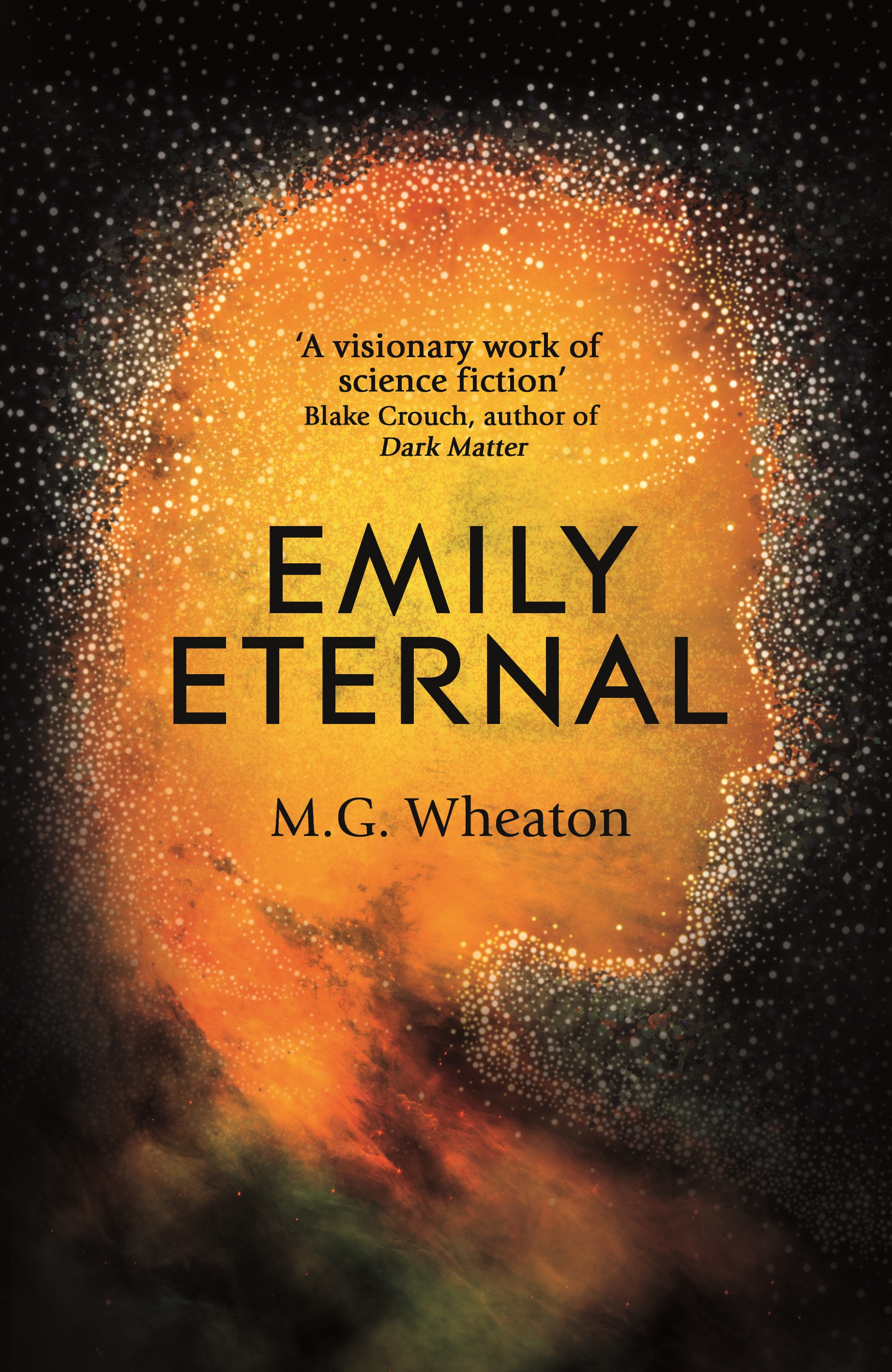 Emily Eternal by M. G. Wheaton hardback jacket.jpg