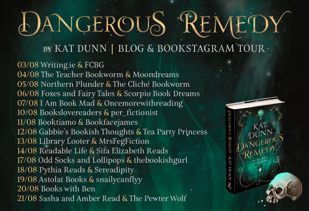 Blogtour: Dangerous Remedy
